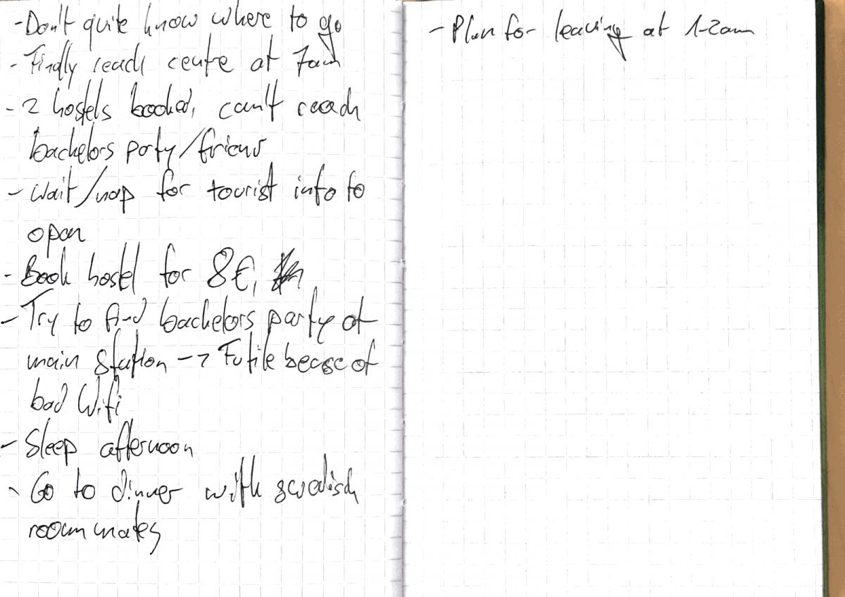 Diary Notes 27.6.2015 - 2
